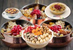 Diyet Aşure Tarifi ve Kalorisi
