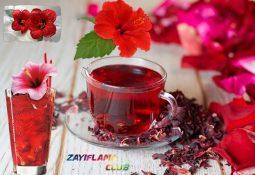 Hibiskus Çayı İle 2 Haftada 8 Kilo Vermek