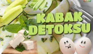 Kabak Detoksu ile 3 Günde 3 Kilo | Nilay Keçeci Detoksu