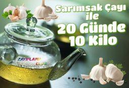 Sarımsak Çayı ile 20 Günde 10 Kilo Verme