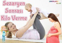 Sezaryen Doğum Sonrası Kilo Verme ve Göbek Eritme