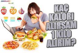Kaç Kalori Alırsam 1 Kilo Alırım?