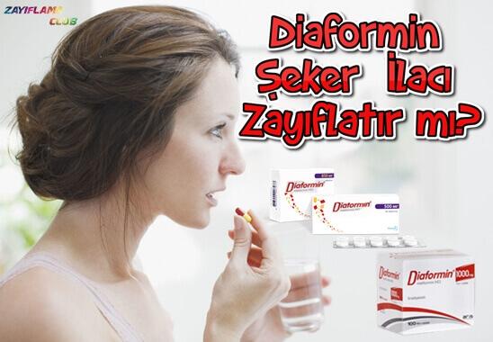 Diaformin Şeker İlacı Zayıflatır mı?