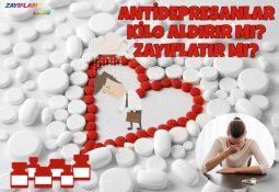 Antidepresanlar Kilo Aldırır mı? Zayıflatır mı?