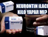 Neurontin İlacı Kilo Aldırır mı?