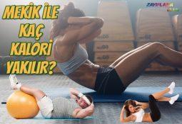 Mekik ile Kaç Kalori Yakılır?