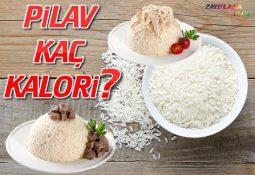 Pilav Kaç Kalori?