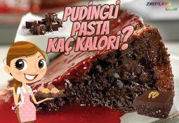 Pudingli Pasta Kaç Kalori?