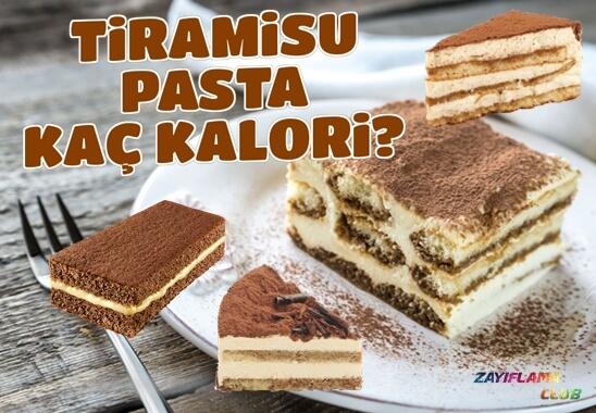 Tiramisu Pasta Kaç Kalori?