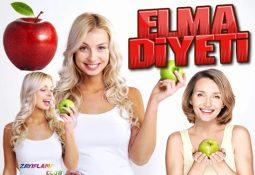 Elma Diyeti İle 3 Günde 3 Kilo Verme