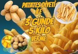 Patates Diyeti | 3 Günde 5 Kilo Verme!