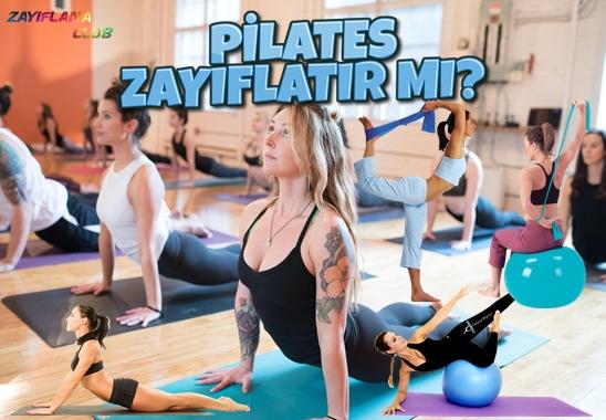 Pilates Zayıflatır mı? Sıkılaştırır Mı?