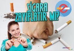 Sigara Zayıflatır Mı? Kalori Yaktırır Mı?