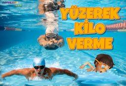 Yüzmek Kilo Verdirir Mi? Kaç Kalori Yaktırır?