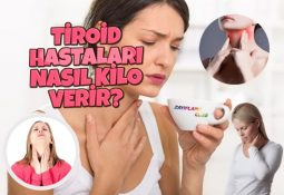 Tiroid Hastaları Nasıl Kilo Verir?