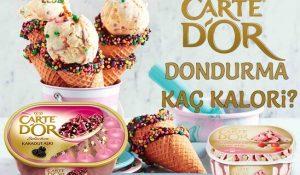 Carte D'or Dondurma Kaç Kalori? Kalorisi ve Besin Değerleri