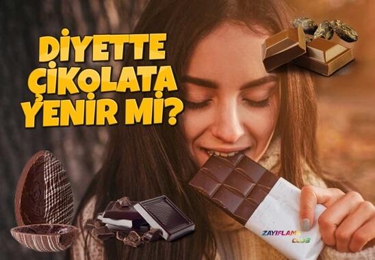 Diyette Çikolata Yenir Mi? Hangi Çikolata Kaç Kalori?